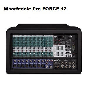 Wharfedale Pro Force 12 Powered Mixer